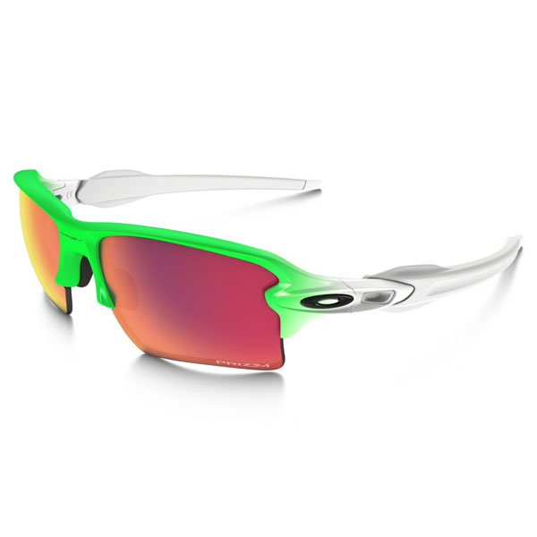 Men Oakley FLAK™ 2.0 XL PRIZM™ FIELD GREEN FADE EDITION OO9188-43 Outlet Online