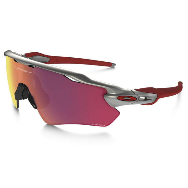 Men Oakley RADAR EV PATH PRIZM™ FIELD MLB COLLECTION SILVER/RED/RED OO9208-32 Outlet Online