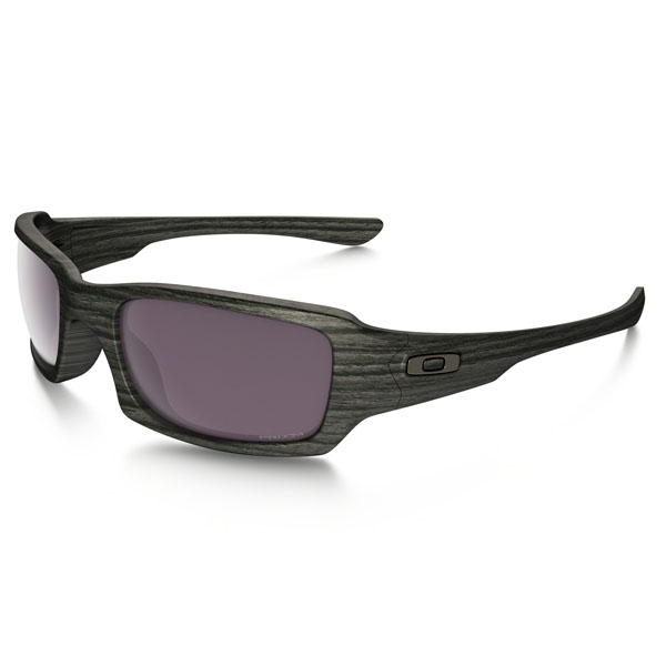 Men Oakley FIVES SQUARED™ PRIZM™ DAILY POLARIZED WOODGRAIN COLLECTION OO9238-19 Outlet Online