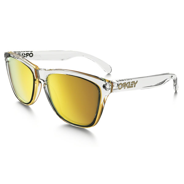 Women Oakley FROGSKINS CRYSTAL COLLECTION OO9013-A4 Outlet Online